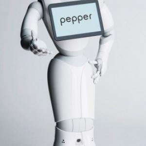 Peper, le robot