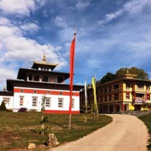 Le temple et le centre d'etudes