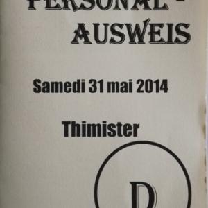 L'Ausweis : sesame d'entree dans le village
