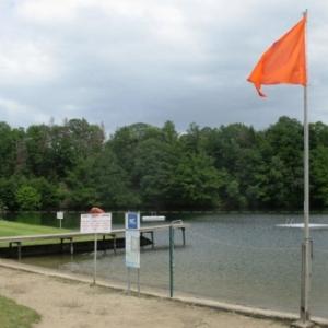 Le lac de Robertville