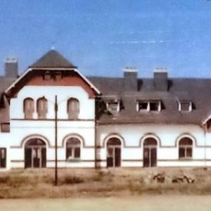 La gare de Sourbrodt