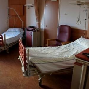 26. Une chambre de l'hopital de semaine