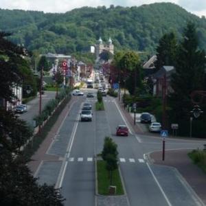 Le passage sur l' Avenue des Allies a Malmedy