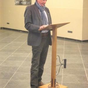 Allocution de M. DENIS, Echevin de la Culture à Malmedy