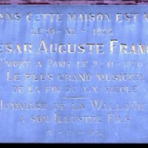 Sur la maison natale de Cesar Franck