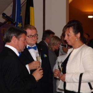 Le President et le Secretaire du Mions Club Hautrs - Fagnes