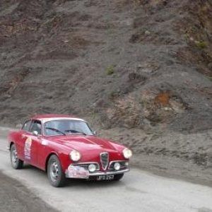 Maroc Classic Alfa Romeo Giuletta Sprint de 1962
