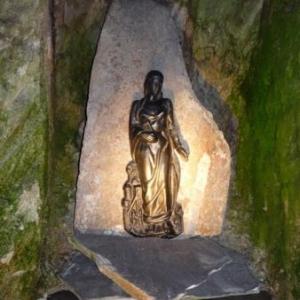 Sous la protection de Ste Barbe, patronne des mineurs