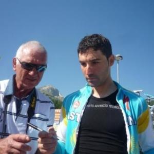 David DE LA FUENTE, equipier de Contador