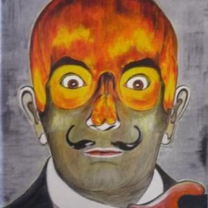 """ Tout feu, tout flamme "" ( Surrealisme ) Josee - Anne Barthelemy"