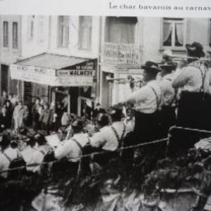 18. Le char bavarois au carnaval de Malmedy