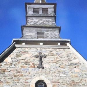 19 Le clocher de la chapelle de Beverce