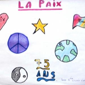 """""""Guerre et paix"""" representation des eleves de l'ecole de Geromont"""