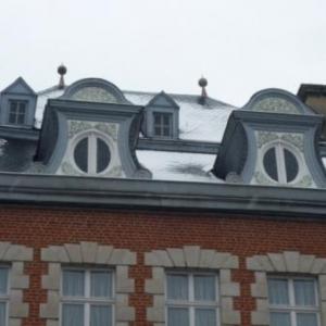 La magnifique facade de la Maison Villers