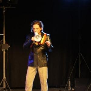 Serge Demoulin durant la repetition