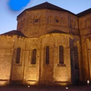 Eglise de Solignac, localite jumelee avec Stavelot