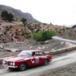 Maroc Classic Alfa Romeo 1750 GTV de 1968