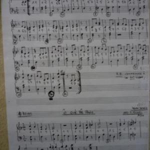 Les partitions des melodies arrangees par Sylvain MICHEL