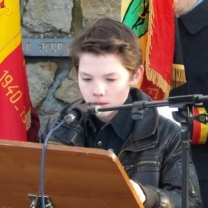 Lecture d'une lettre emouvante d'un soldat americain a ses parents