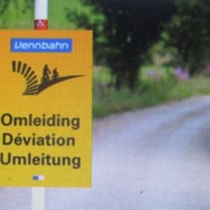 Travaux d'infrastructure sur la Vennbahn et agenda  des Cantons de l'Est.