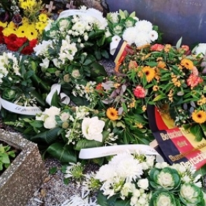 Le Memorial fleuri