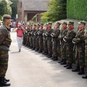 La garde d' honneur