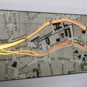 Canal des usines a Verviers