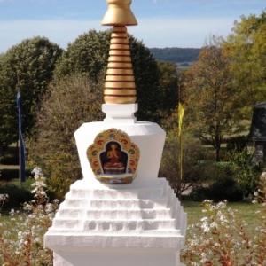 Un grand Stupa (chorten en tibetain