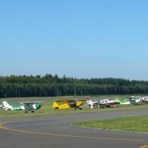 Quelques avions actuels exposes