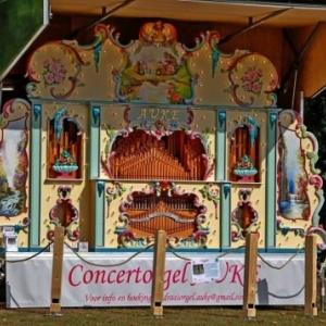 Concert d'orgue sur remorque ( Wieze / Belgique )