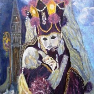 Huile sur toile de Helga Hardy - Viseur