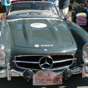 Maroc Classic Mercedes 300 SL de 1962