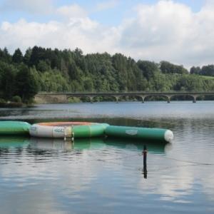 Le pont Haelen d'ou les spectateurs pourront assister au depart ( 7.30 h)