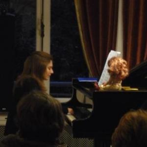 """Interprétation au piano de """" Plaintes d'une poupée """" de C. Franck"""