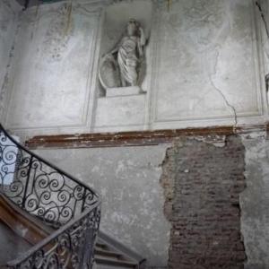 L'escalier d'entree