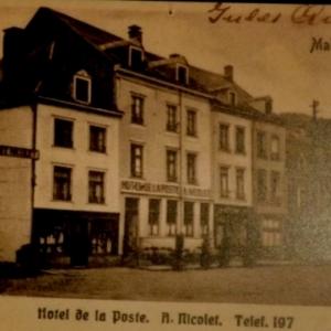 Hotel de la Poste et la salle Nicolet