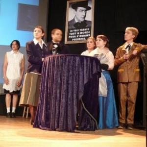Jeunes acteurs de la troupe