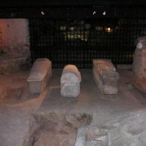 Emplacement de la tombe de St Denis