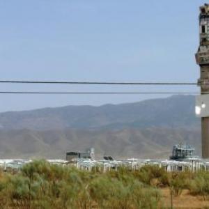 AW 020017 Province d Almeria : centrale electrique avec panneaux photovoltaiques