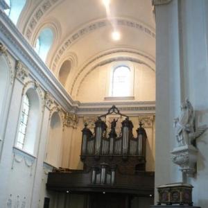 Le transept cote recto