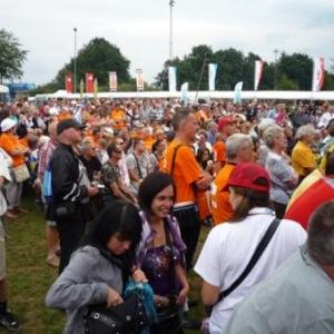 La foule durant les concerts