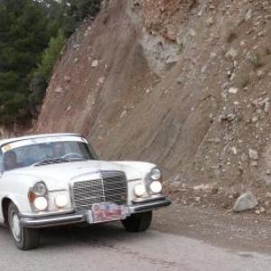 Maroc Classic Mercedes 280 SE de 1970