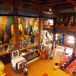 L'interieur du temple
