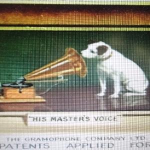 ( Photo 4 ) Le visuel « His Master's Voice »