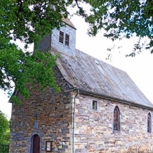 La chapelle Saint Hubert appelée aussi Saint Donat