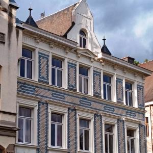 Une façade du parc du Châtelet