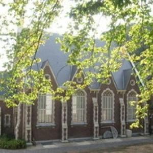SPA  L'église protestante de Spa, bâtie par deux Anglaises