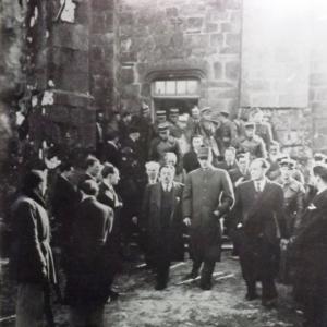 1946 Pélerinage à Oradour sur Glane