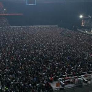 Un concert de Metallica : la foule est au rendez-vous