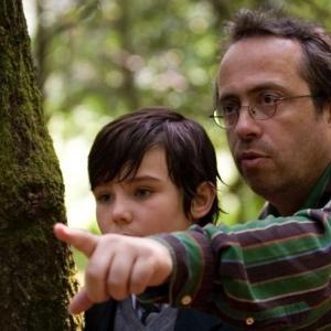 Jaco Van Dormael dirige un de ses jeunes acteurs